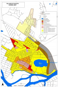 Scotia Zoning Map